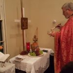 Transfiguration Service – blessing of fruit of the vine 2016 photos